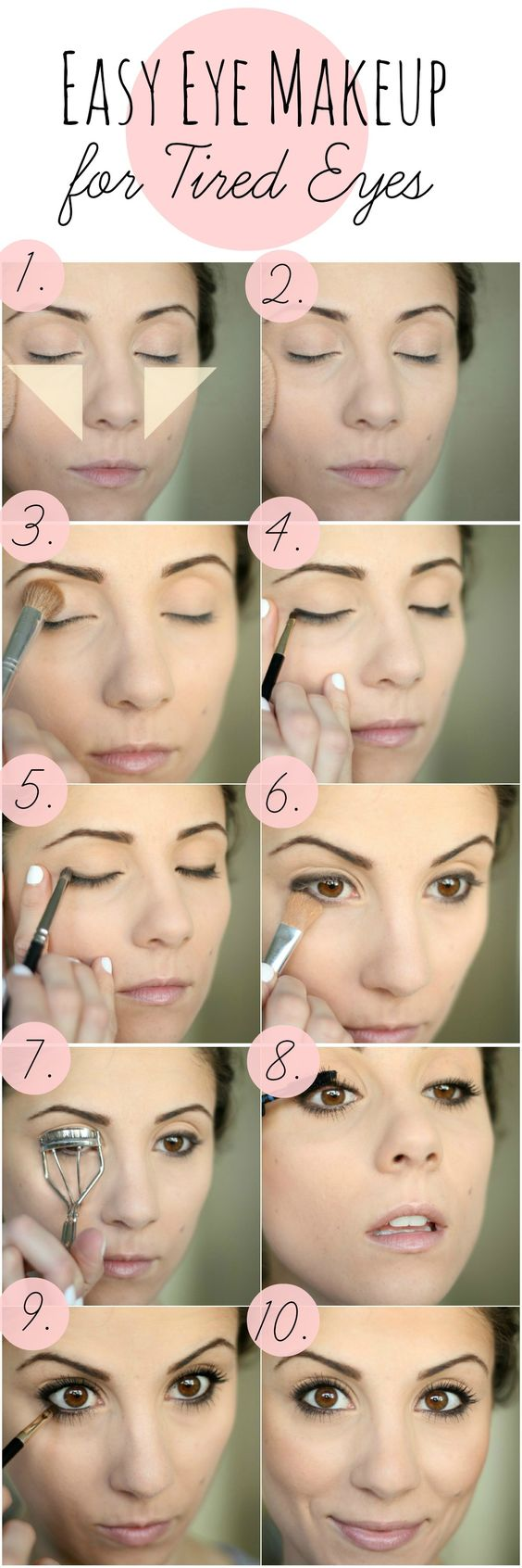 Easy Eye Makeup For Tired Eyes Lauren