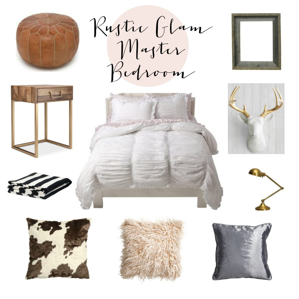 Rustic Glam Master Bedroom