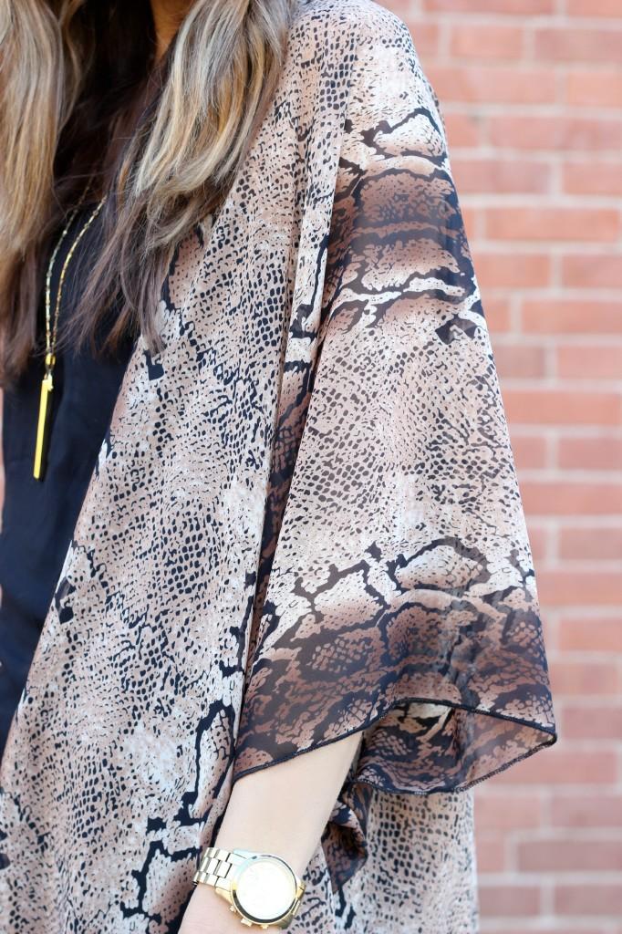 Love Threads Into the Wild Kimono