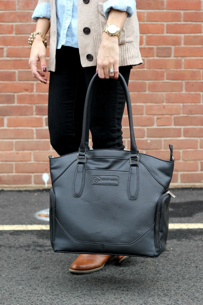 Sarah Wells Bags, Annie Bag, Black