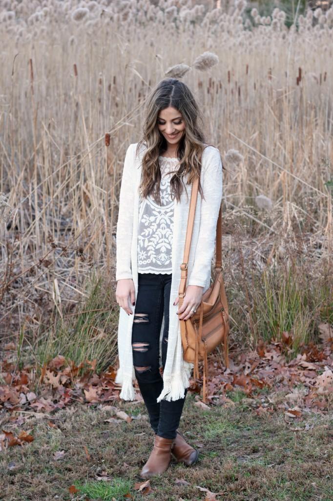 Lauren McBride - Bohemian Winter Outfit