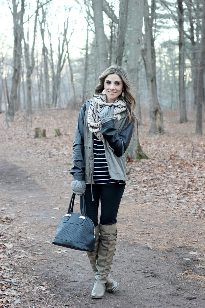 Layered in Leather - Lauren McBride