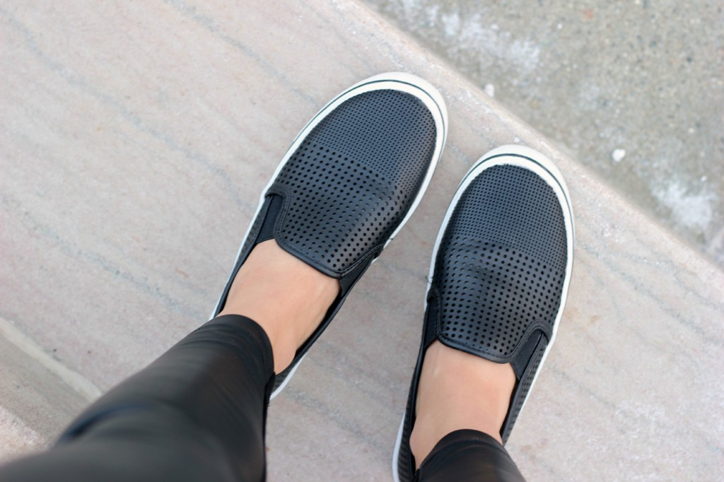 Preppy in Leather, MSC Carolyn W Sneakers