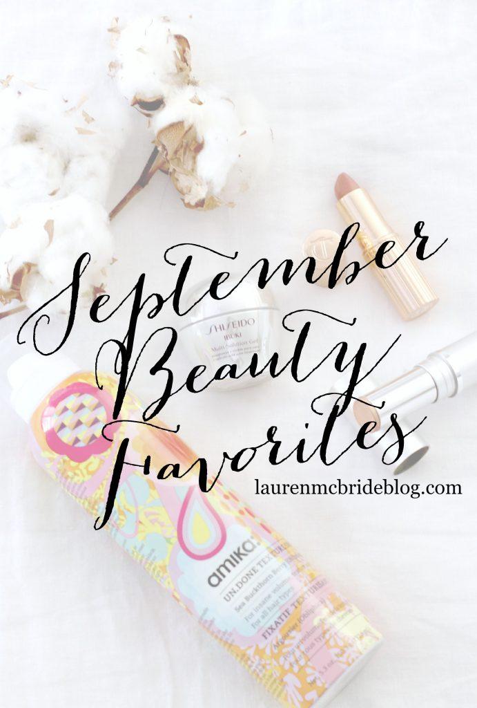 September Beaty Favorites 2