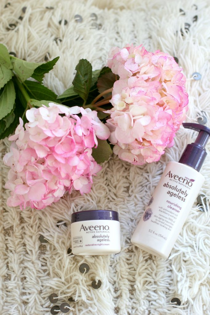 Best Drugstore Anti-Aging Line, Aveeno Absolutely Ageless