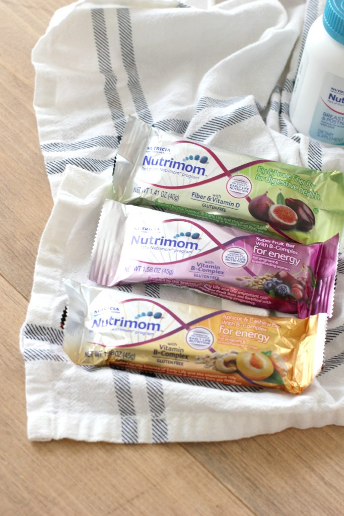 The perfect gift for new moms featuring the Nutrimom program and subscripton box