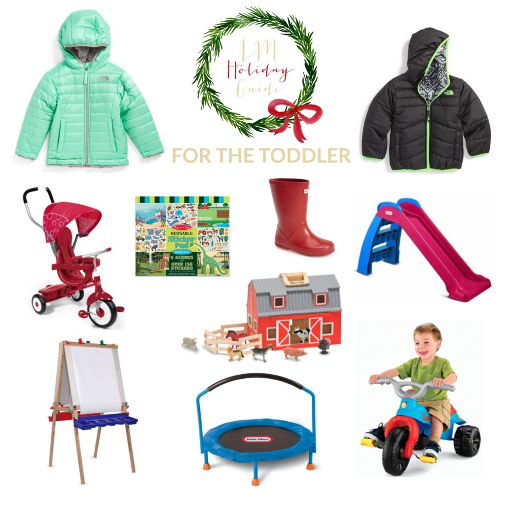 Holiday gift guide for toddler boys and girls ages 2-3