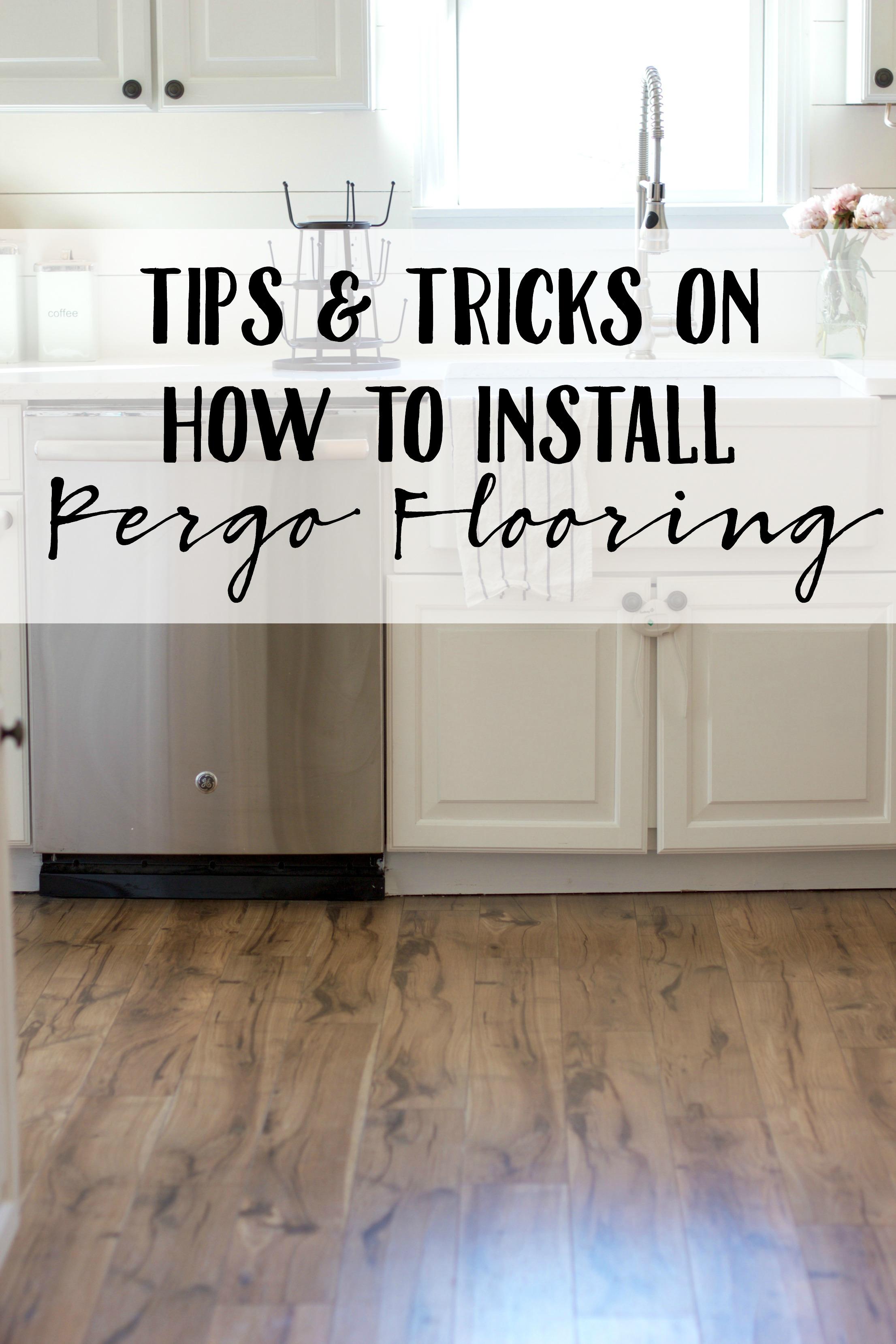 Install Pergo Flooring, How To Take Care Of Pergo Laminate Flooring