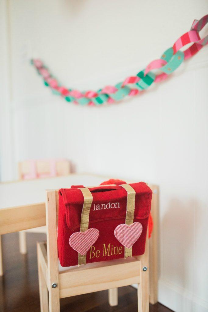 Pottery Barn Kids Valentine mailbox