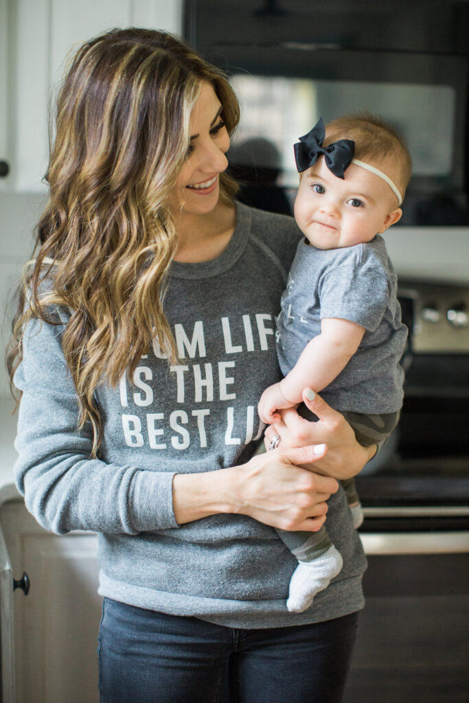 ILY Couture Mom Life is the Best Life sweatshirt