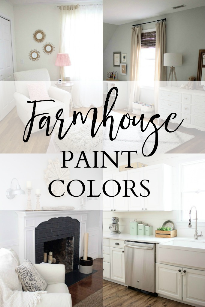 Home Our Farmhouse Paint Colors Lauren McBride