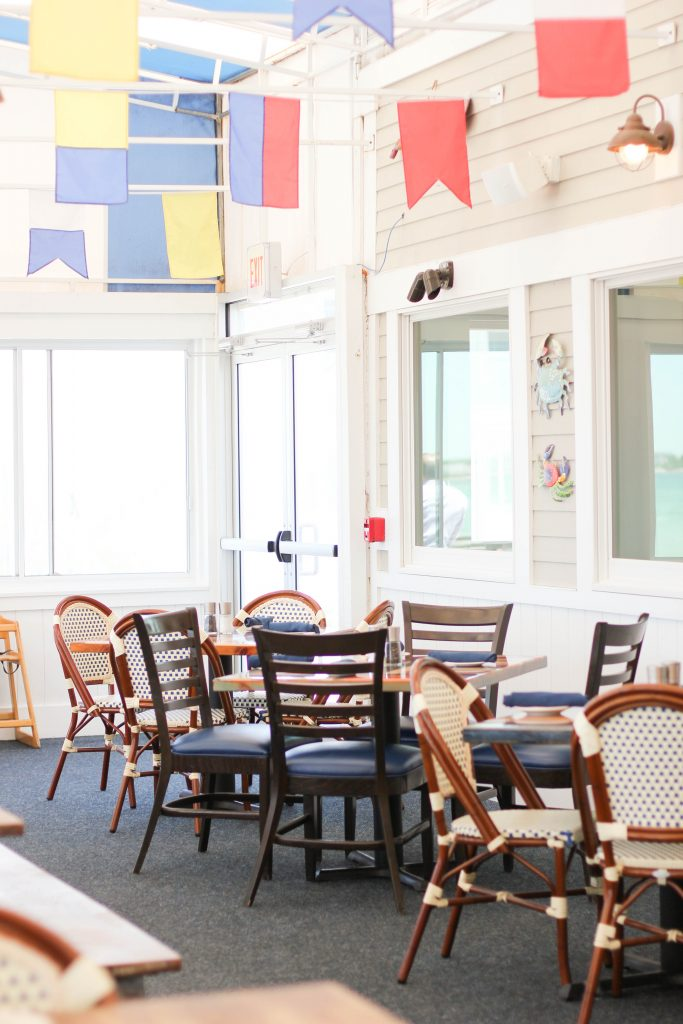 Red's in Sea Crest Beach Hotel in Falmouth, family friendly places in Cape Cod