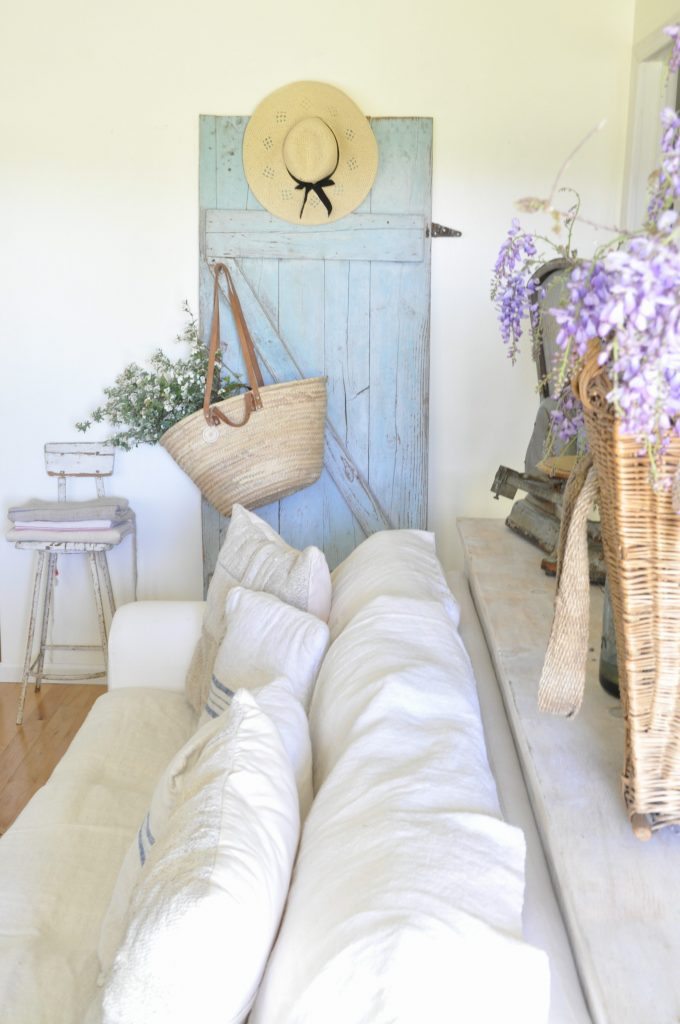The Inspired Cottage series featuring Buckets of Burlap and her charming vintage french country cottage!