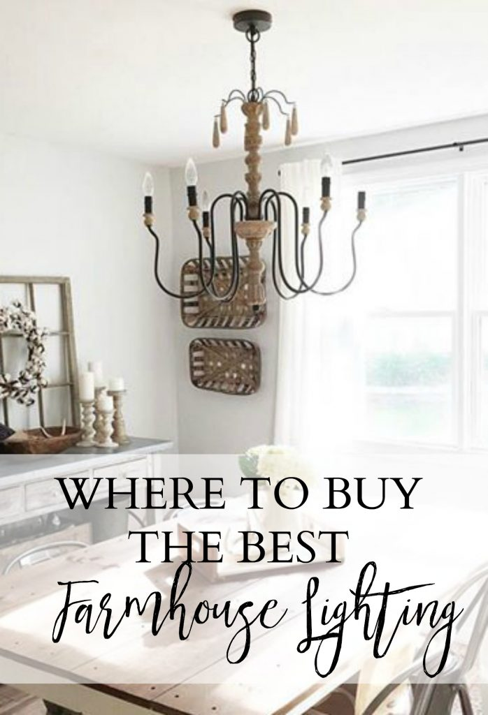 Where to buy the best farmhouse lighting