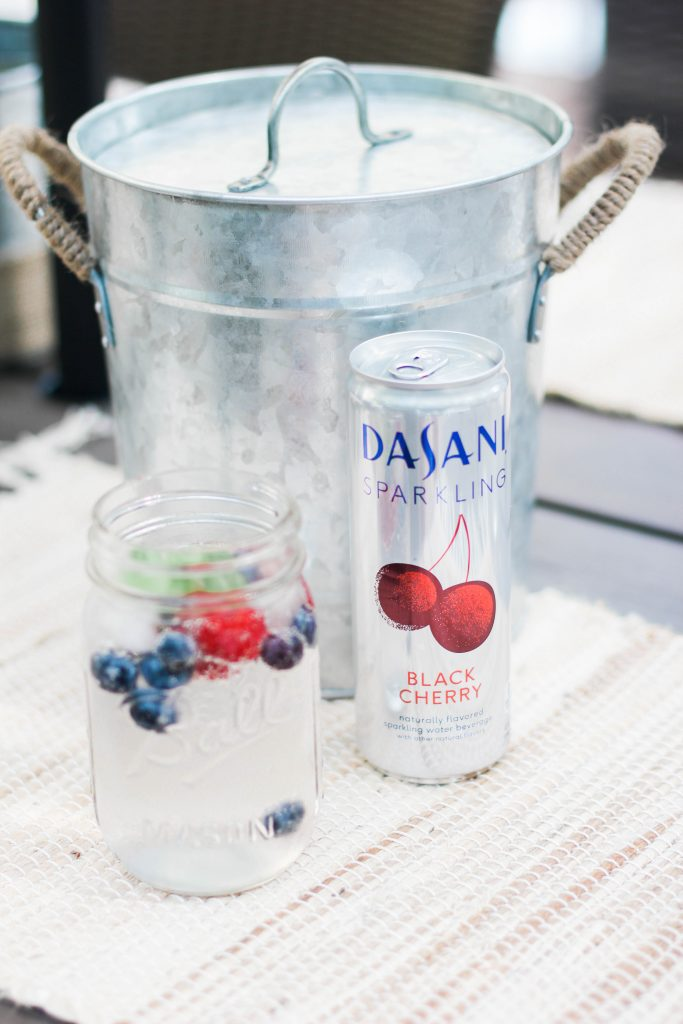 Mint Berry Summer Mocktail
