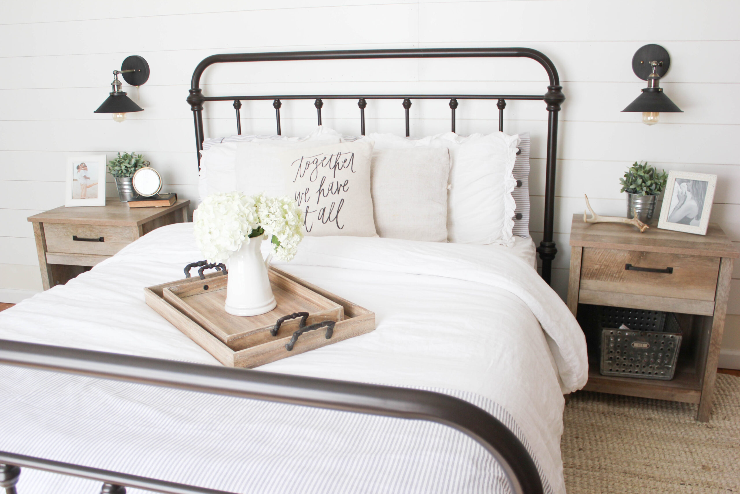 Home Farmhouse Master Bedroom Lauren Mcbride