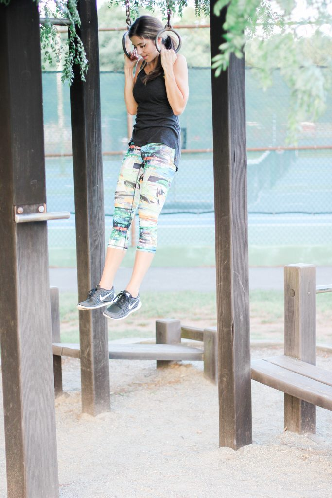 An easy playground workout that can be done with your kids!