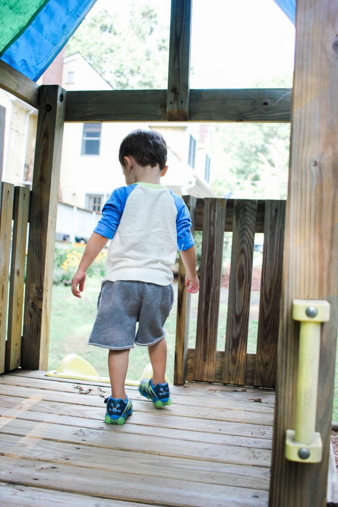 Kid's light up sneakers with Stride Rite Leepz at Zappos
