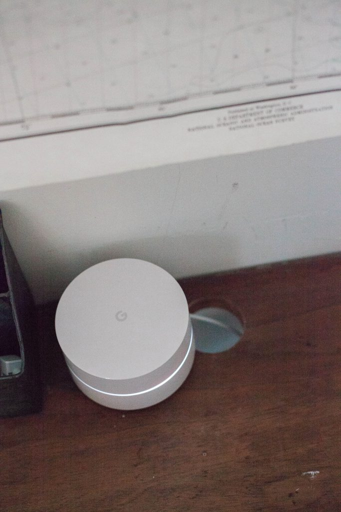 A review of Google Wifi and how it's helping work at home parents be more productive throughout their work day.