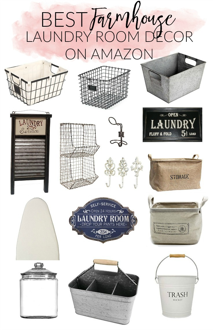 Home Best Farmhouse Laundry Room Decor On Amazon