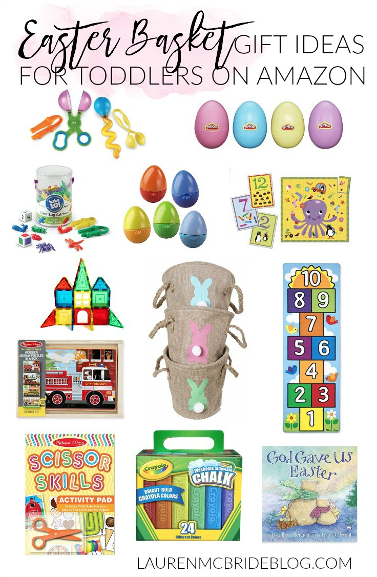 STOP RIGHT NOW and check out these easter basket gift ideas for toddlers on Amazon! They're just what you need for your little kiddos!