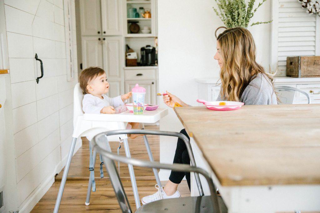 PlaytexBaby Mealtime Plate and Utensils reviews, and why motherhood really does go by so fast.