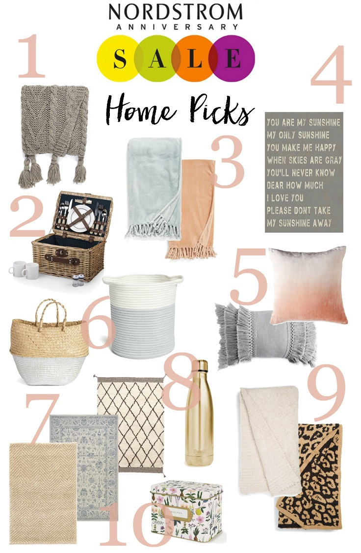 Top home decor picks from the Nordstrom Anniversary Sale, most under $50!