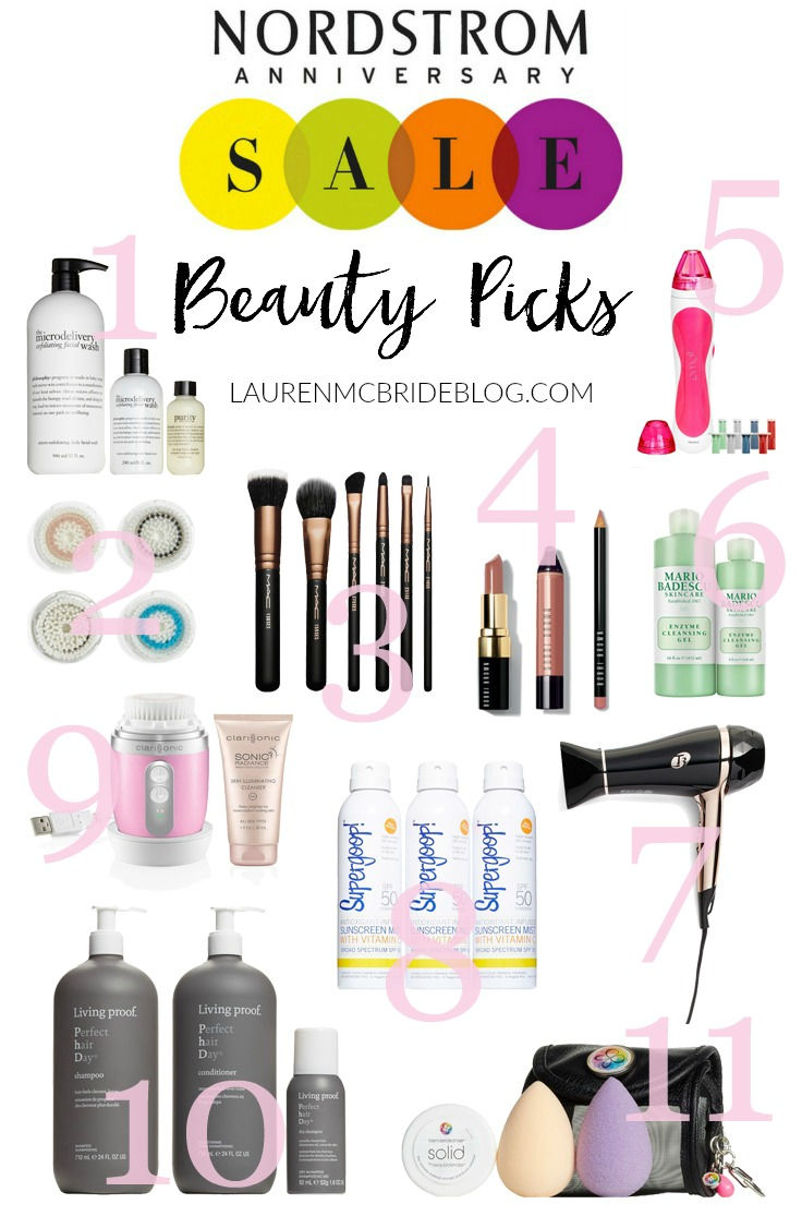 Top beauty picks from the Nordstrom Anniversary Sale 2017.