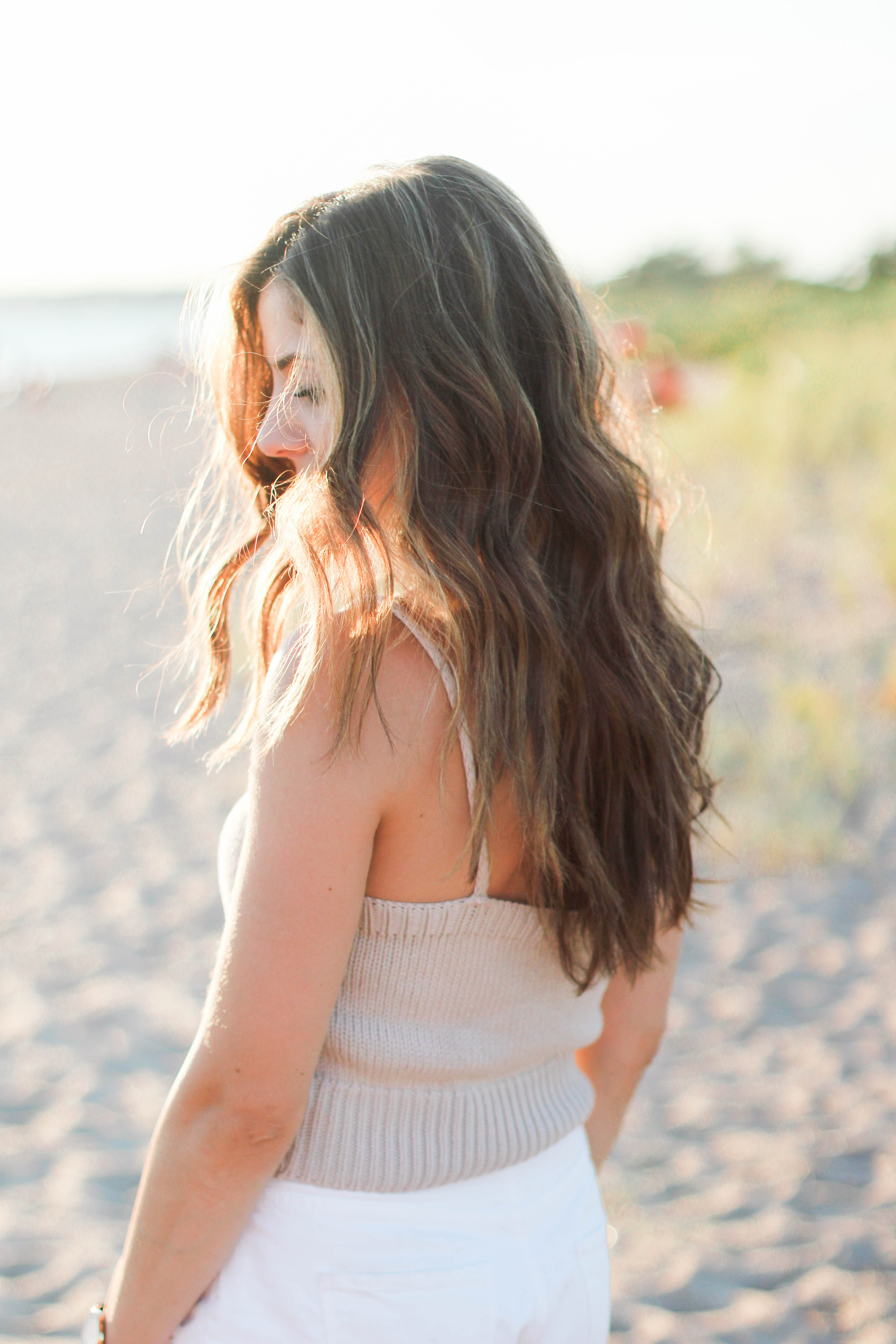 My Beachy Waves Hair Tutorial, and the products I use to achieve this simple look!
