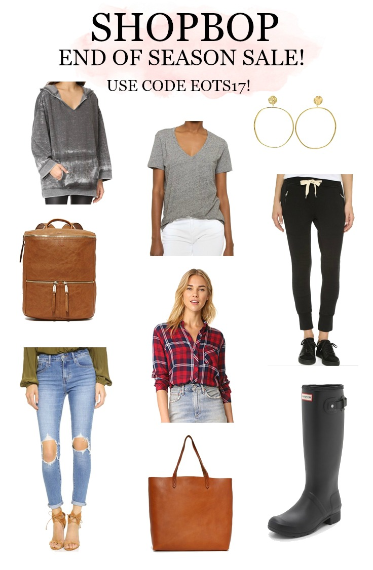 ShopBop End of Season Sale picks for moms!