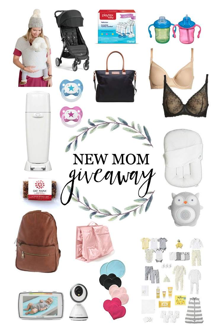 Life and style blogger Lauren McBride teams up with some of her favorite brands to giveaway a variety of items for one new mom!