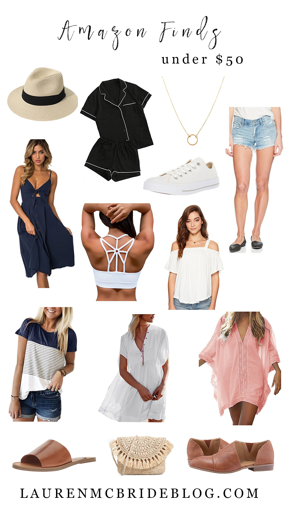 Life and style blogger Lauren McBride shares Amazon Finds Under $50 for the month of June.