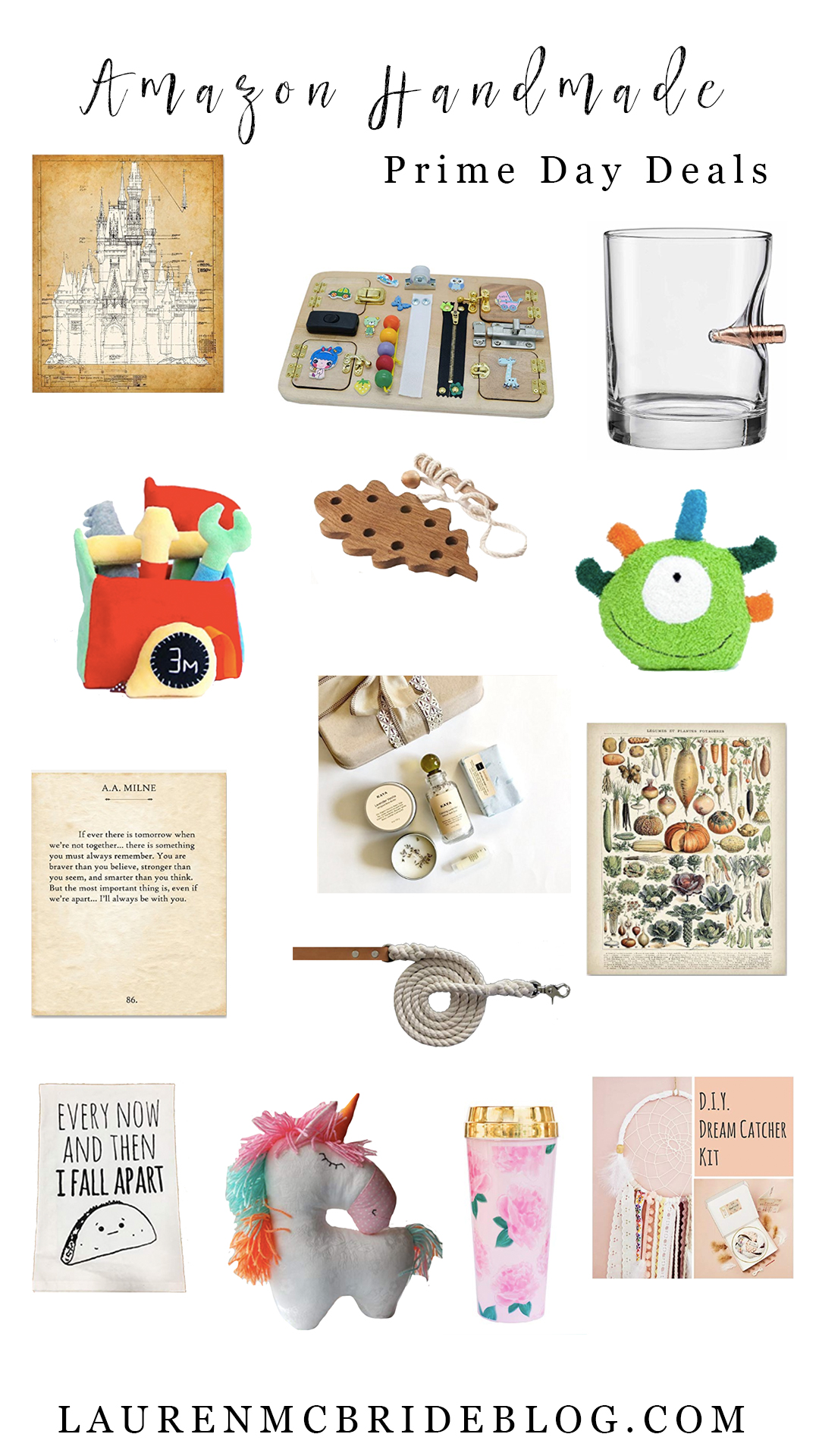 Life and style blogger Lauren McBride shares Amazon Handmade Prime Day Deals for Amazon's 2018 Prime Day!