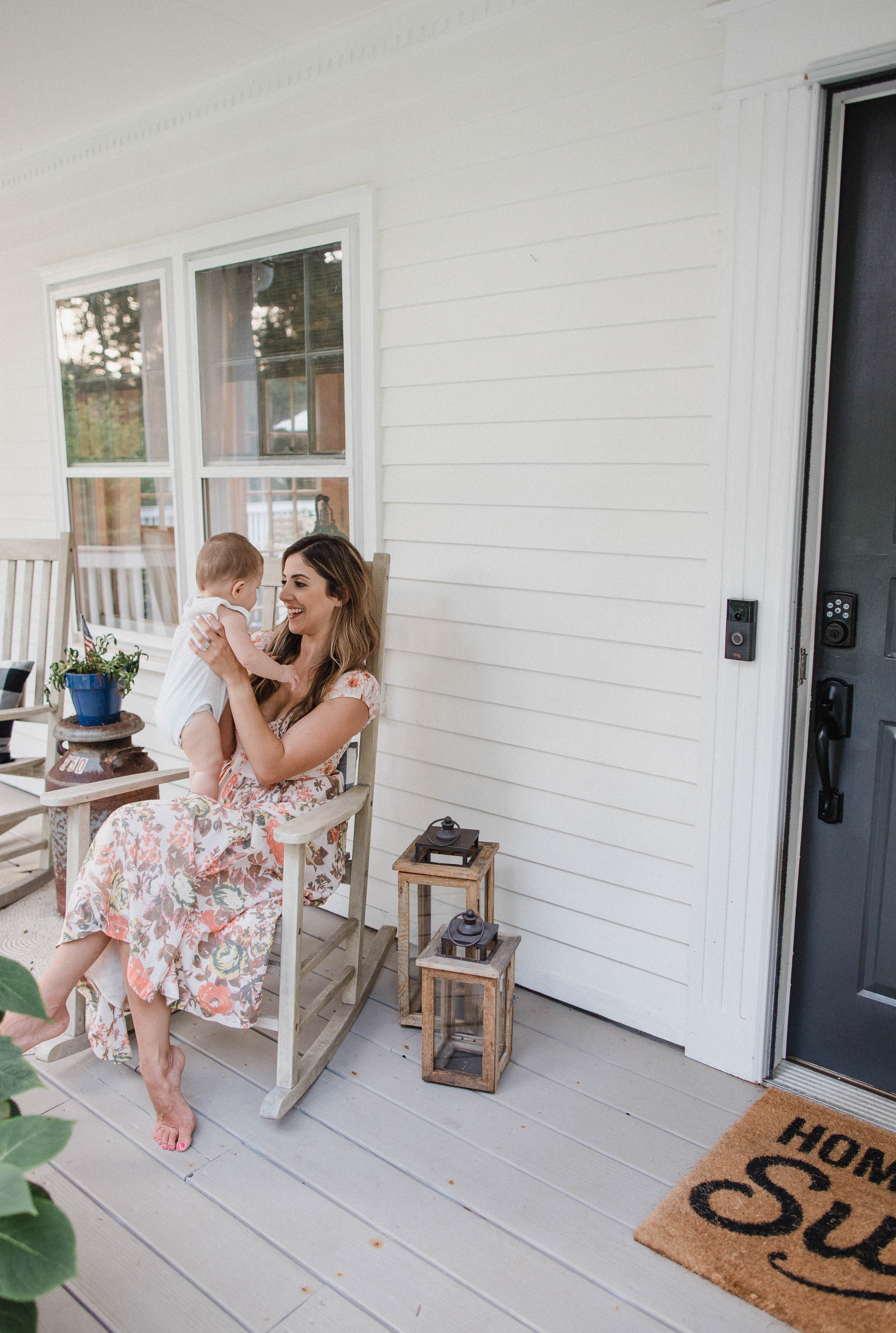 Connecticut life and style blogger Lauren McBride shares why her family loves the Ring Doorbell and how it gives her peace of mind in their home.