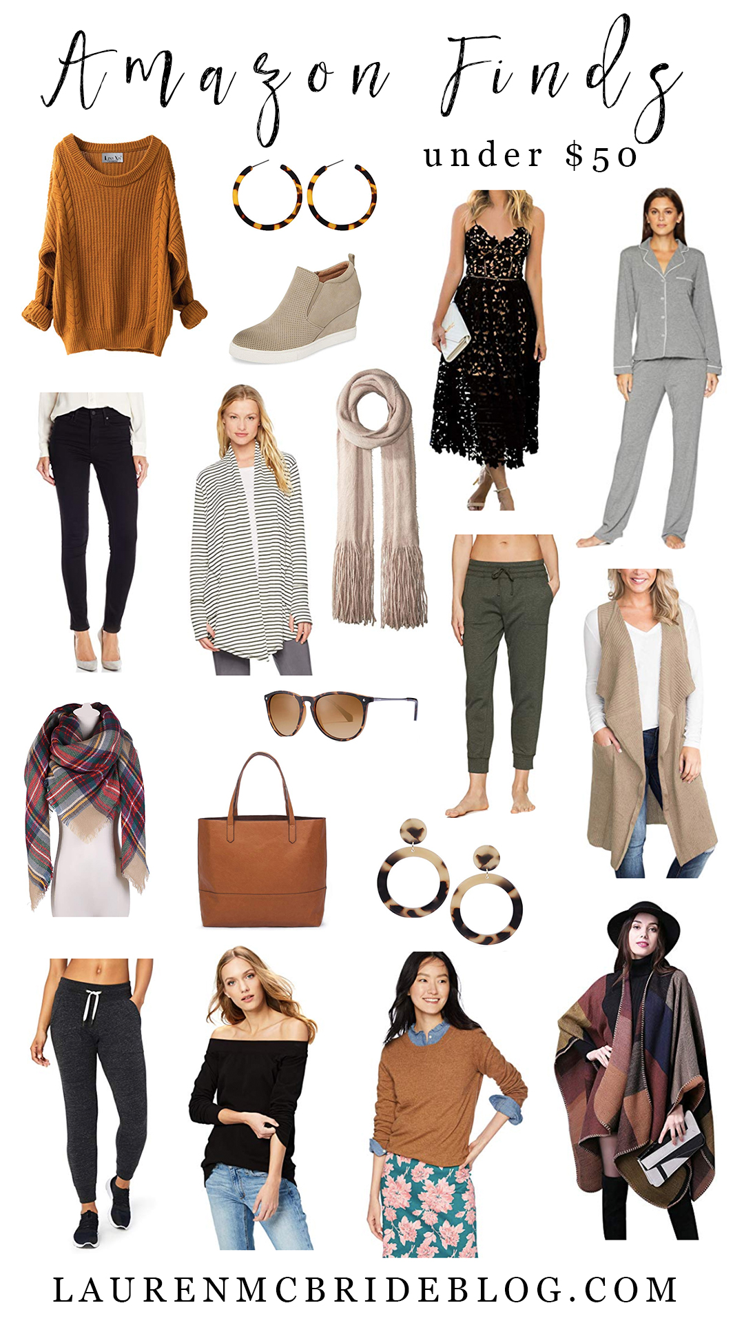Connecticut life and style blogger Lauren McBride shares her October Amazon Finds Under $50 including designer dupes and fall essentials.
