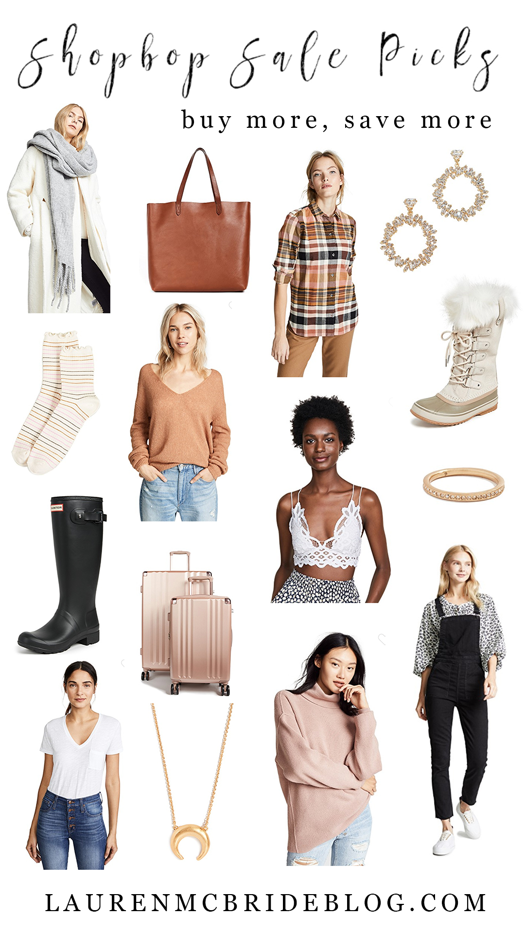 Connecticut life and style blogger Lauren McBride shares her picks for the ShopBop Buy More, Save More sale.