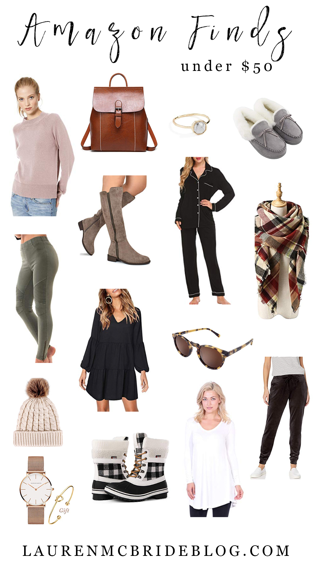 Connecticut life and style blogger Lauren McBride shares her December Amazon Finds Under $50 including great last minute gift ideas!