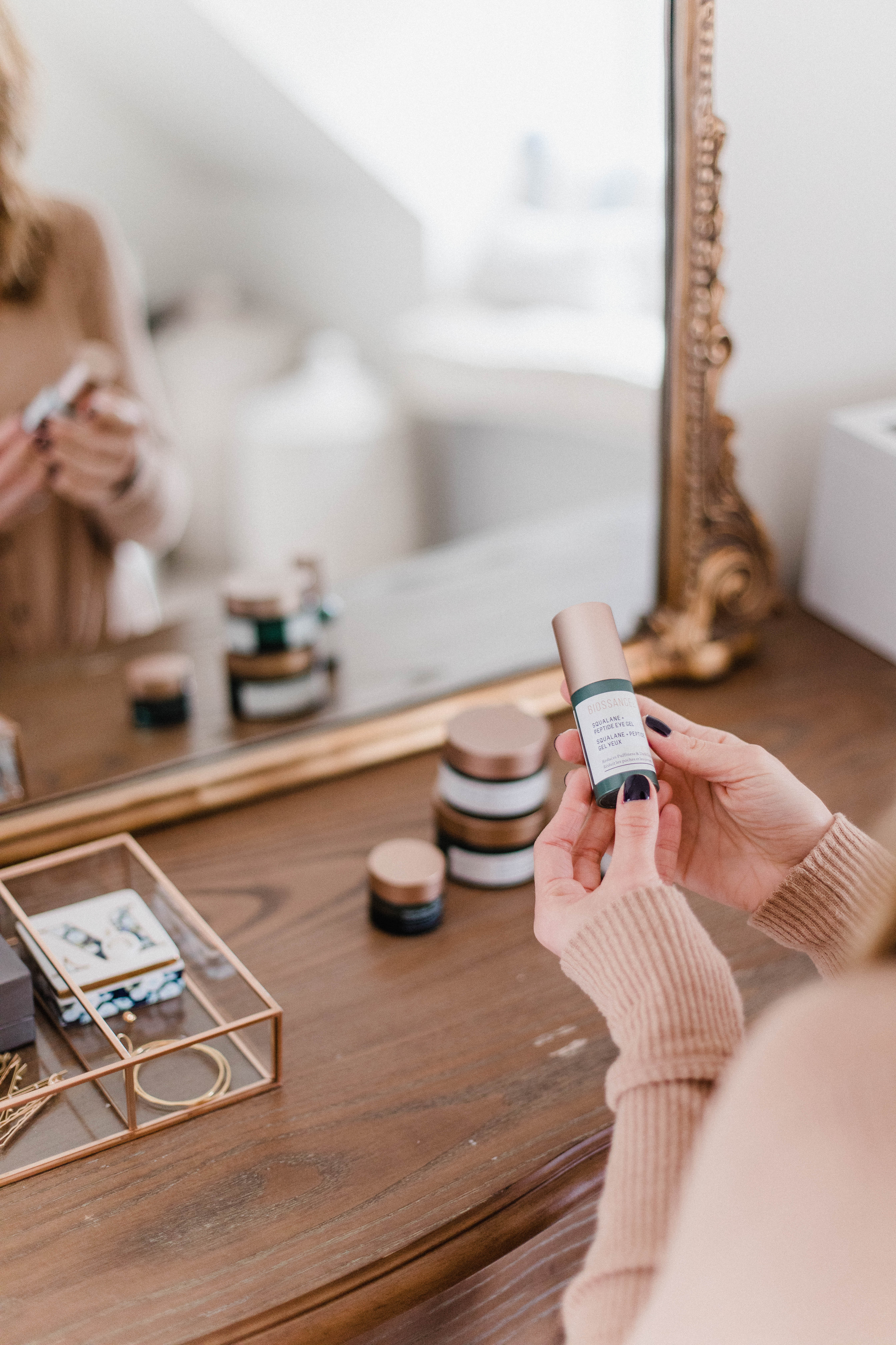 Connecticut life and style blogger Lauren McBride shares her current favorite @Biossance products, including a flash sale for Black Friday #ad
