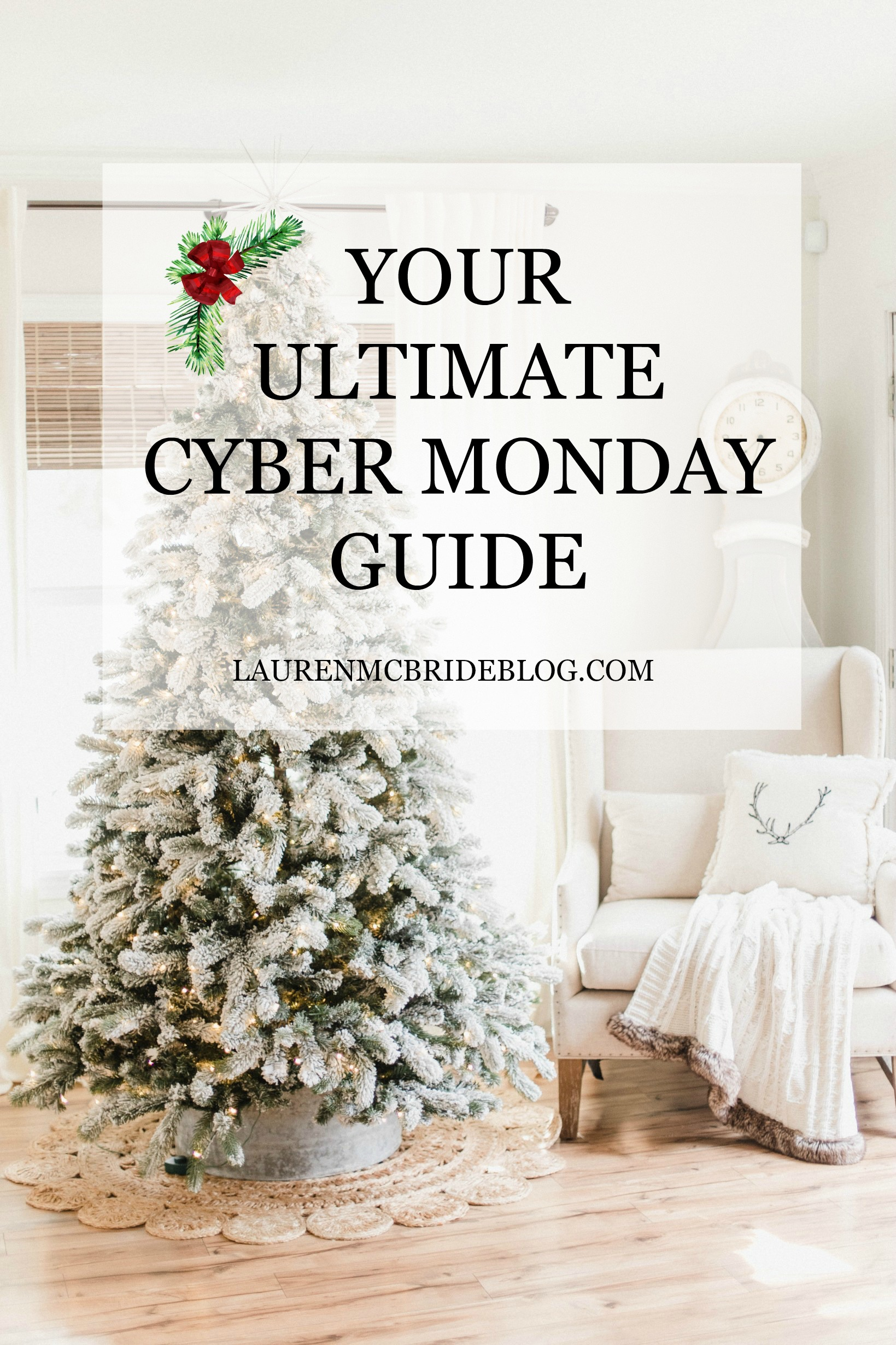 Looking for the ultimate Cyber Monday sale guide? Connecticut life and style blogger Lauren McBride has it all right here!