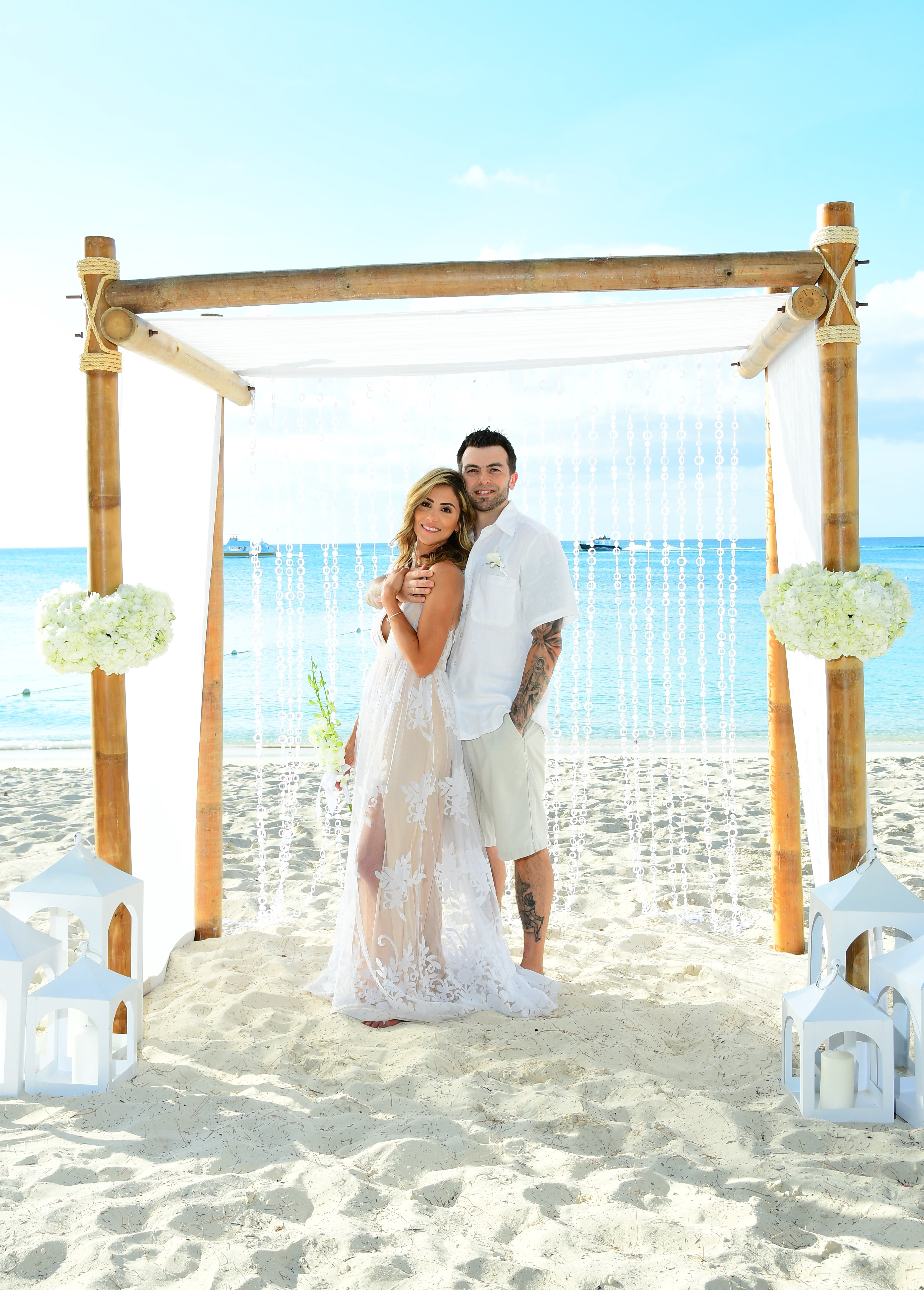 Thinking of renewing your vows? Connecticut life and style blogger Lauren McBride shares about her 10 year vow renewal ceremony at Beaches Turks & Caicos.