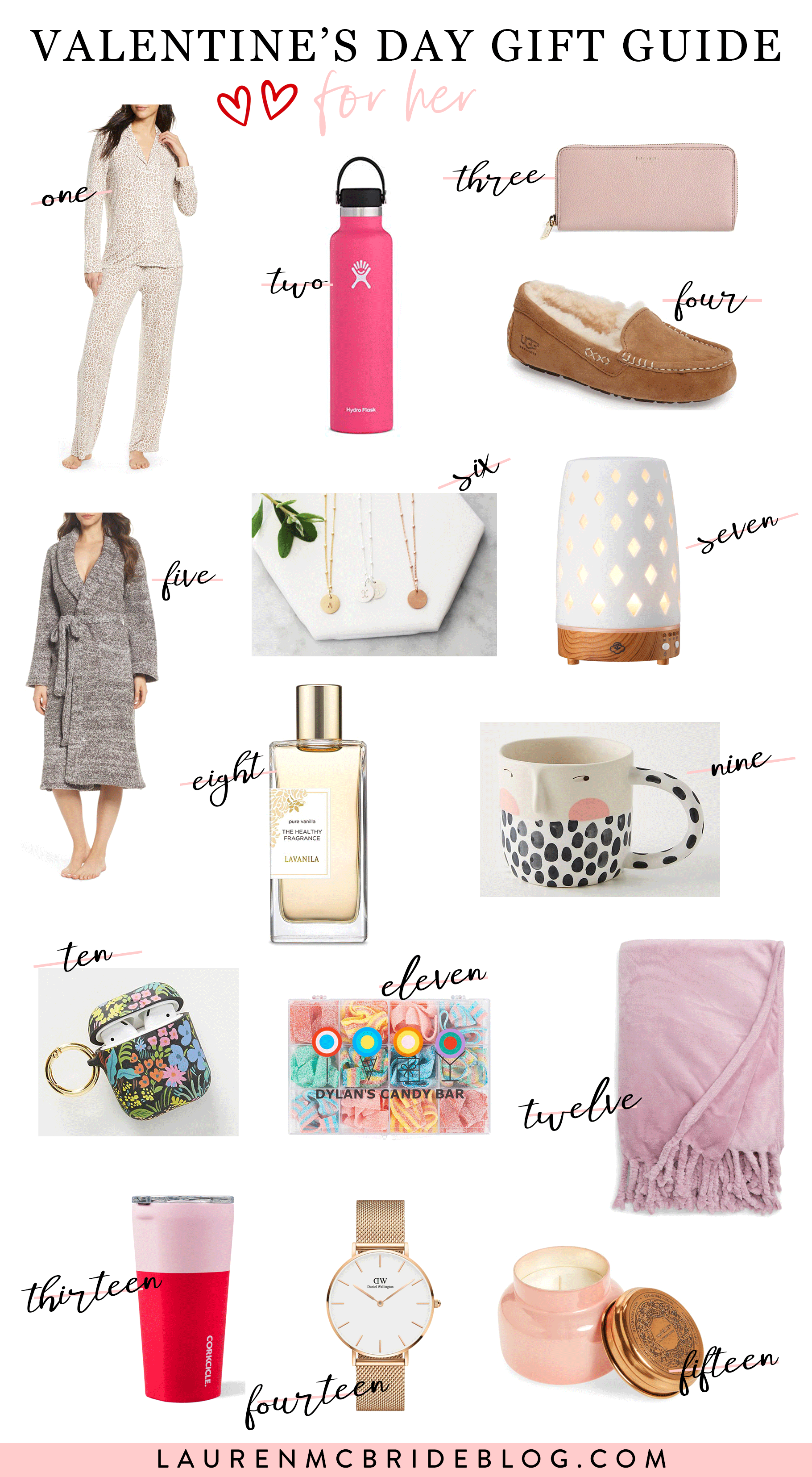 Looking for the best Valentine's Day Gift for Her this year? Connecticut Lifestyle Blogger Lauren McBride is sharing her top picks that are perfect for any girl in your life. See them HERE!
