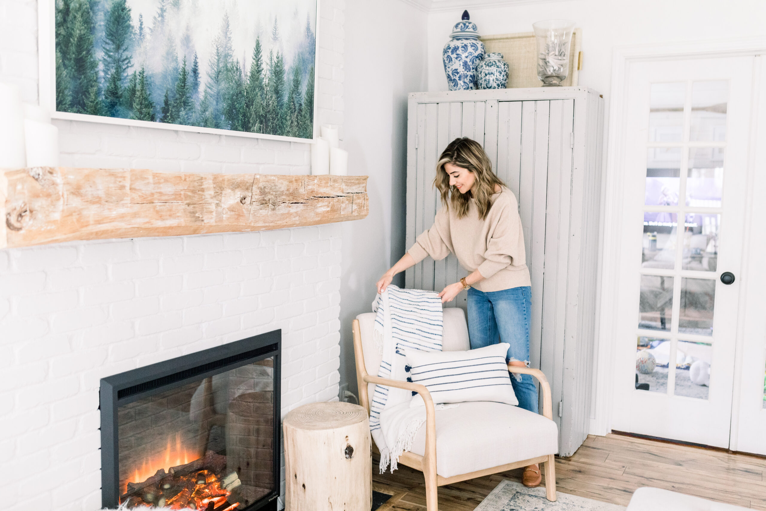 Connecticut life and style Lauren McBride shares her new self-designed home decor line, available for purchase exclusively on QVC.