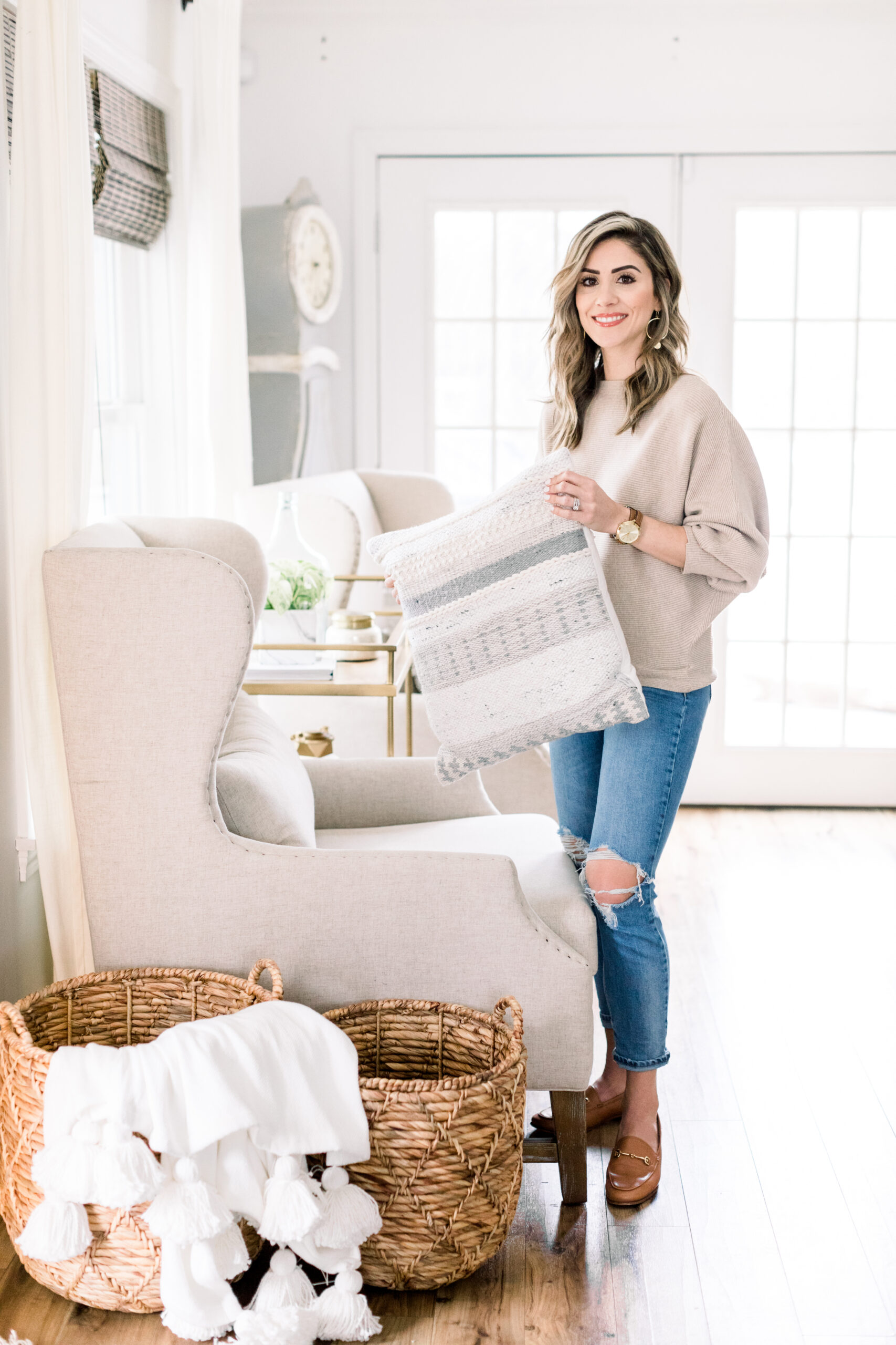 Connecticut based life and style blogger Lauren McBride laucnhes an exclusive home decor collection available now on QVC.com.