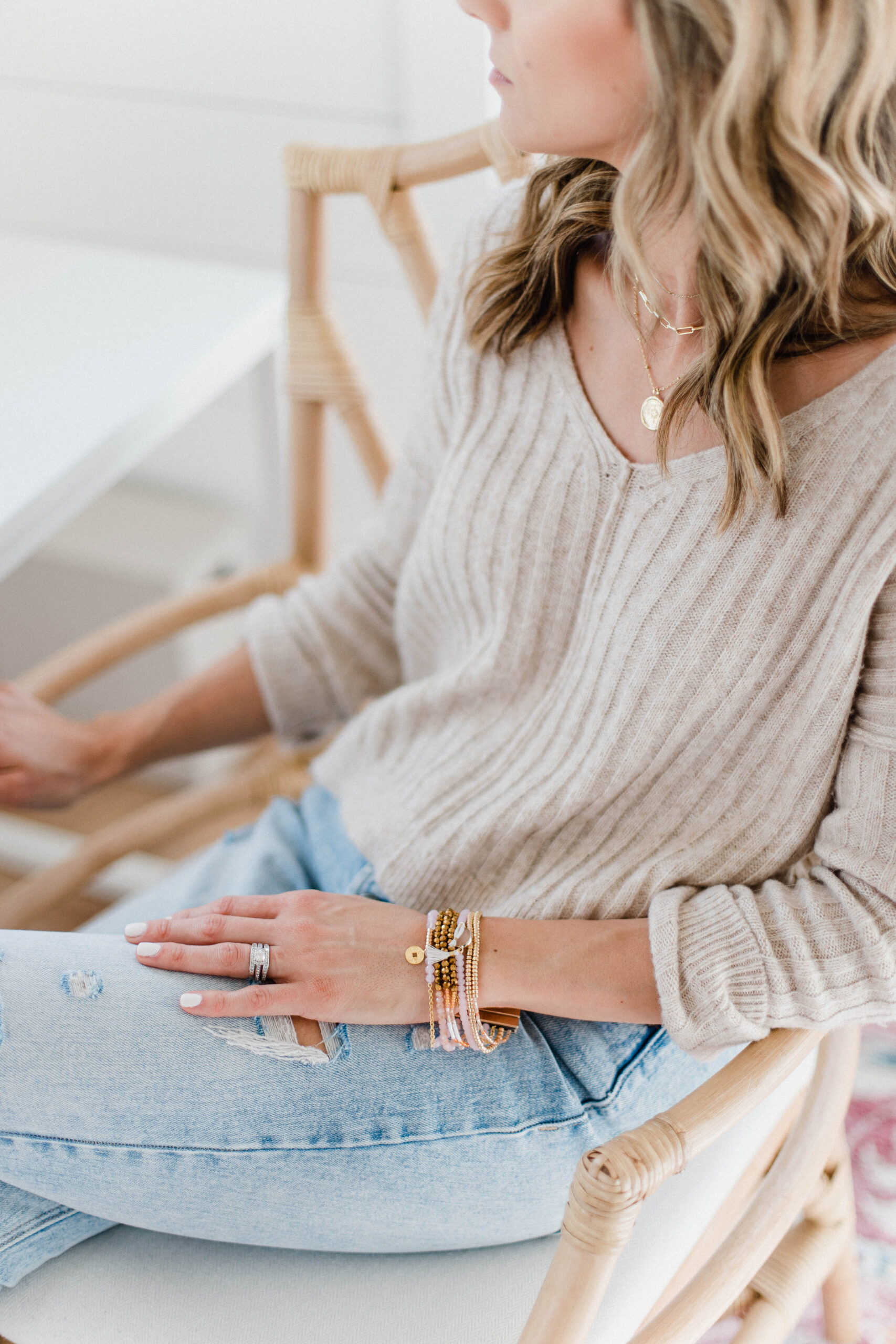 Connecticut life and style blogger Lauren McBride shares her Victoria Emerson St. Patrick's Day sale picks, including boho cuffs, wraps, and more.