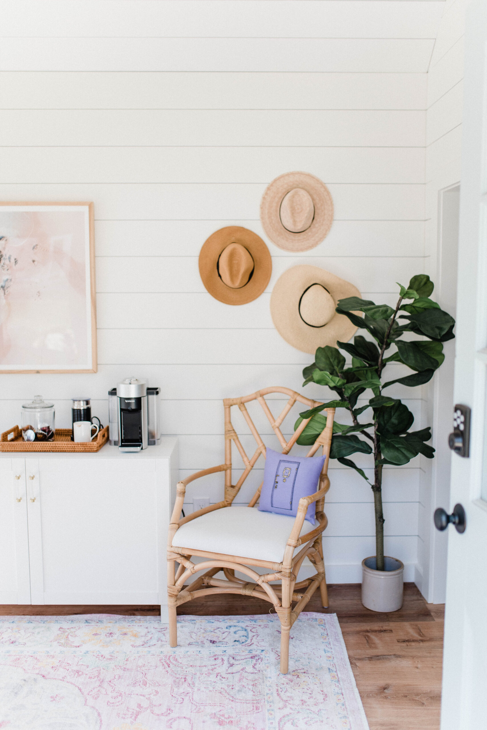 Connecticut life and style blogger Lauren McBride shares her Shed Shed Office Space and how it transformed from a run down shed to an inspirational office.