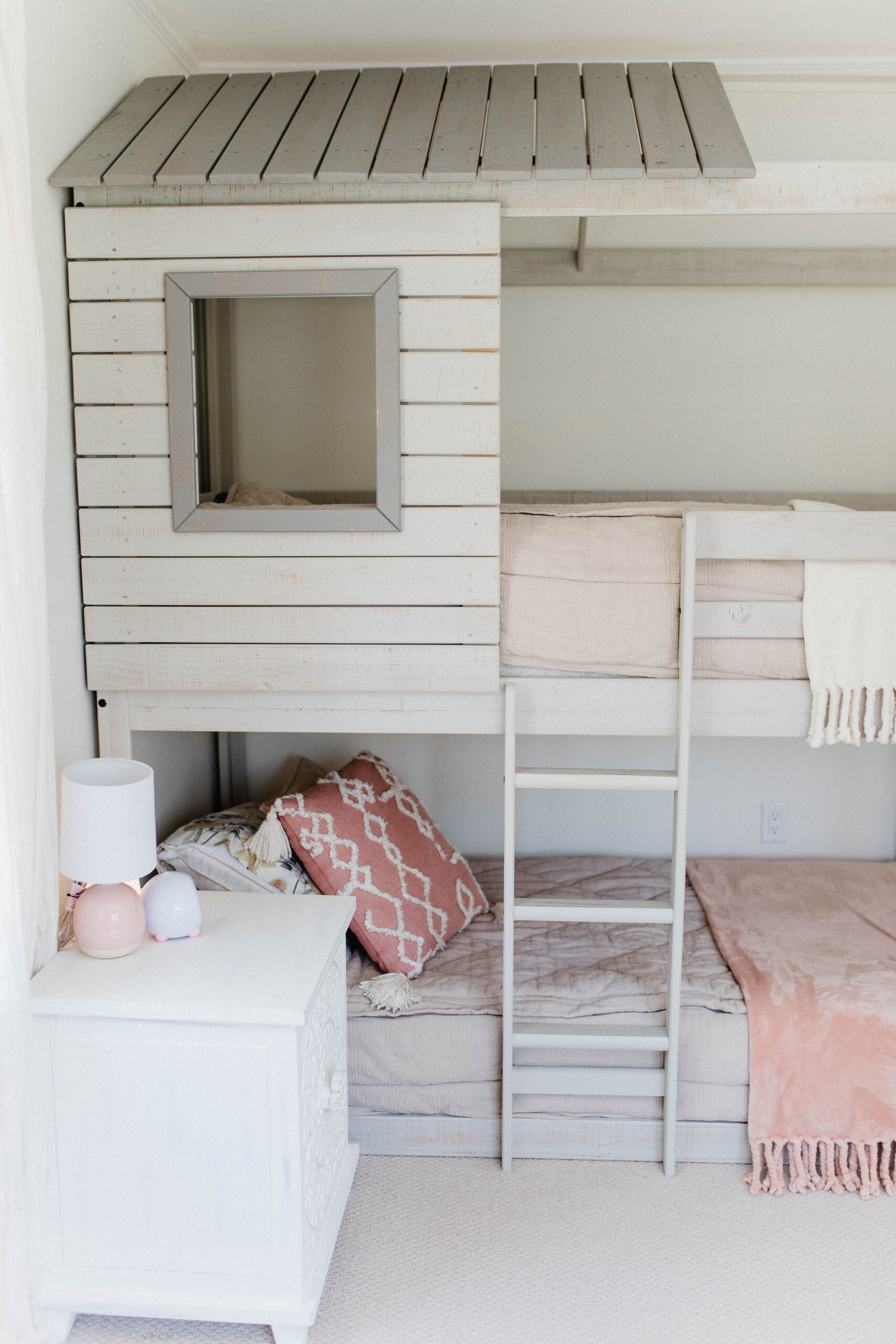 Connecticut life and style blogger Lauren McBride shares her daughter's bedroom - a fun, girly, and sophisticated space for a growing little girl.