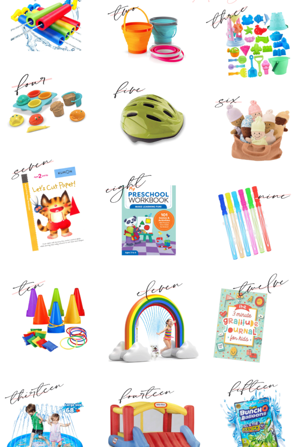 Looking for a few great summer activities for the kids? Connecticut Lifestyle Blogger Lauren McBride is sharing her top Summer Activities for Kids that can all be found on Amazon. See them HERE!