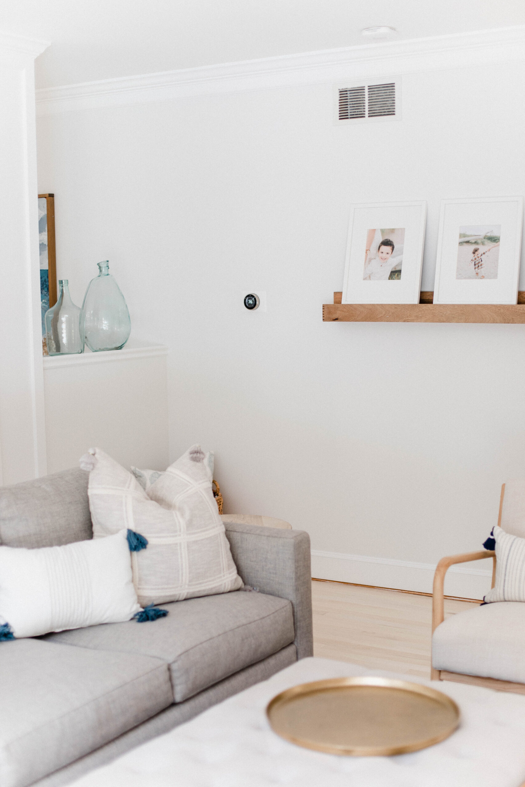 Connecticut life and style blogger Lauren McBride shares smart home additions to her new home, featuring Nest and Ring products.