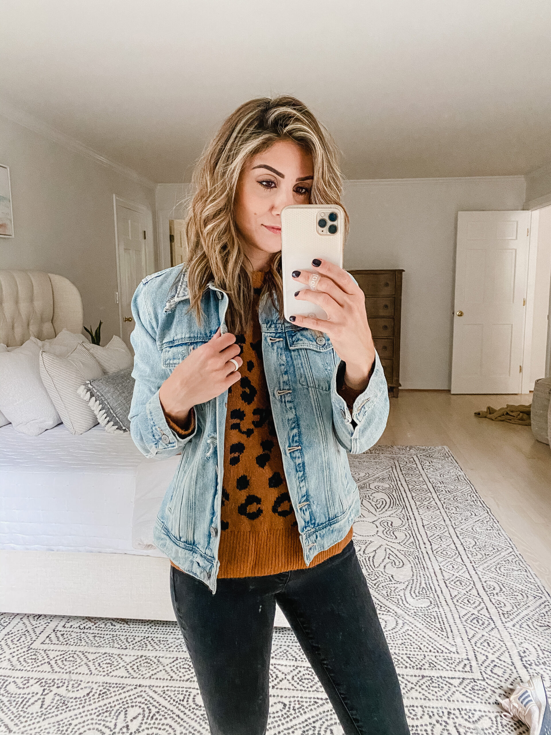 Connecticut life and style blogger Lauren McBride shares her October Old Navy picks featuring fall basics and cozy sweaters.