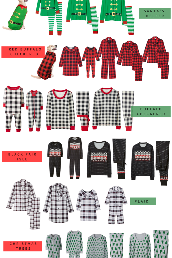 Looking for the best family matching holiday pajamas this year? Connecticut lifestyle blogger Lauren McBride is sharing her top bathing family pajamas here!